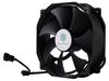 SilverStone FHP141, FHP Series Fan 14cm, 13,4-34,5dBA, High air pressure, Dual operation mode, Black [24]