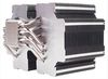 SilverStone HE02, Heligon CPU Cooler, Nickel-coated copper base, 6x heat pipes with aluminum fins, silent, (fanless 95W), socket AM2/AM3/FM1/FM2/775/115X/1366/2011 [24]