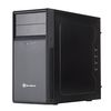 SilverStone Precision PS09B USB 3.0, Tower mATX, Foam padded side, Black [24]
