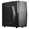 SilverStone Precision PS10B USB 3.0, Tower ATX, Foam padded side, Black [24]