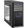 SilverStone Precision PS11B-W USB 3.0, Tower ATX, Mesh front panel, w/ window kit, Black [24]