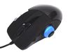 Silverstone RAVEN RVM01B, 1 roll, laser, 5 Programmable buttons, flip 3D thumb scroll, 3200dpi, USB, Black/Carbon fiber [24]