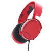 SteelSeries Arctis 3, Comfortable Headset, red