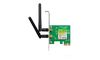 TP-LINK TL-WN881ND, 300Mbps Wireless N PCI Express Adapter, 802.11b/g/n