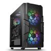 Thermaltake Commander C33 TG ARGB, Midi Tower, ATX, noPSU, Tempered glass (CA-1N4-00M1WN-00)