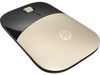 HP Z3700 Wireless Mouse (X7Q43AA), gold