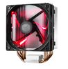 CoolerMaster Hyper 212 LED, Socket AM4/AM3+/AM3/AM2+/FM2+/FM2/FM1, 2066/2011-3/2011/1366/1156/1155/1151/1150/775, 120mm, 600-1600rpm, 9-31dB (RR-212L-16PR-R1)