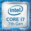 Intel Core i7-7700K, 4.20GHz/4.50GHz turbo, 8MB cache, quad core (8 Threads), Intel HD Graphics 630, unlocked, 14nm (Socket 1151)