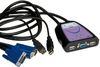 "Secomp Value KVM Switch ""Star"" 1 User - 2 PCs, VGA, USB"
