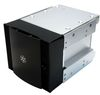 "SilverStone CFP51B, cooling front panel, converter 3x5.25"" into 4x3.5"", Aluminium, Black [24]"