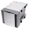 "SilverStone CFP51S, cooling front panel, converter 3x5.25"" into 4x3.5"", Aluminium, Silver [24]"