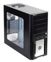 SilverStone Precision PS02B-W, Tower ATX, w/ window kit, Black [24]